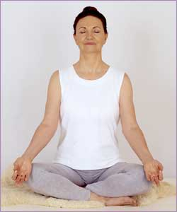 rama meditation easy pose 250x300